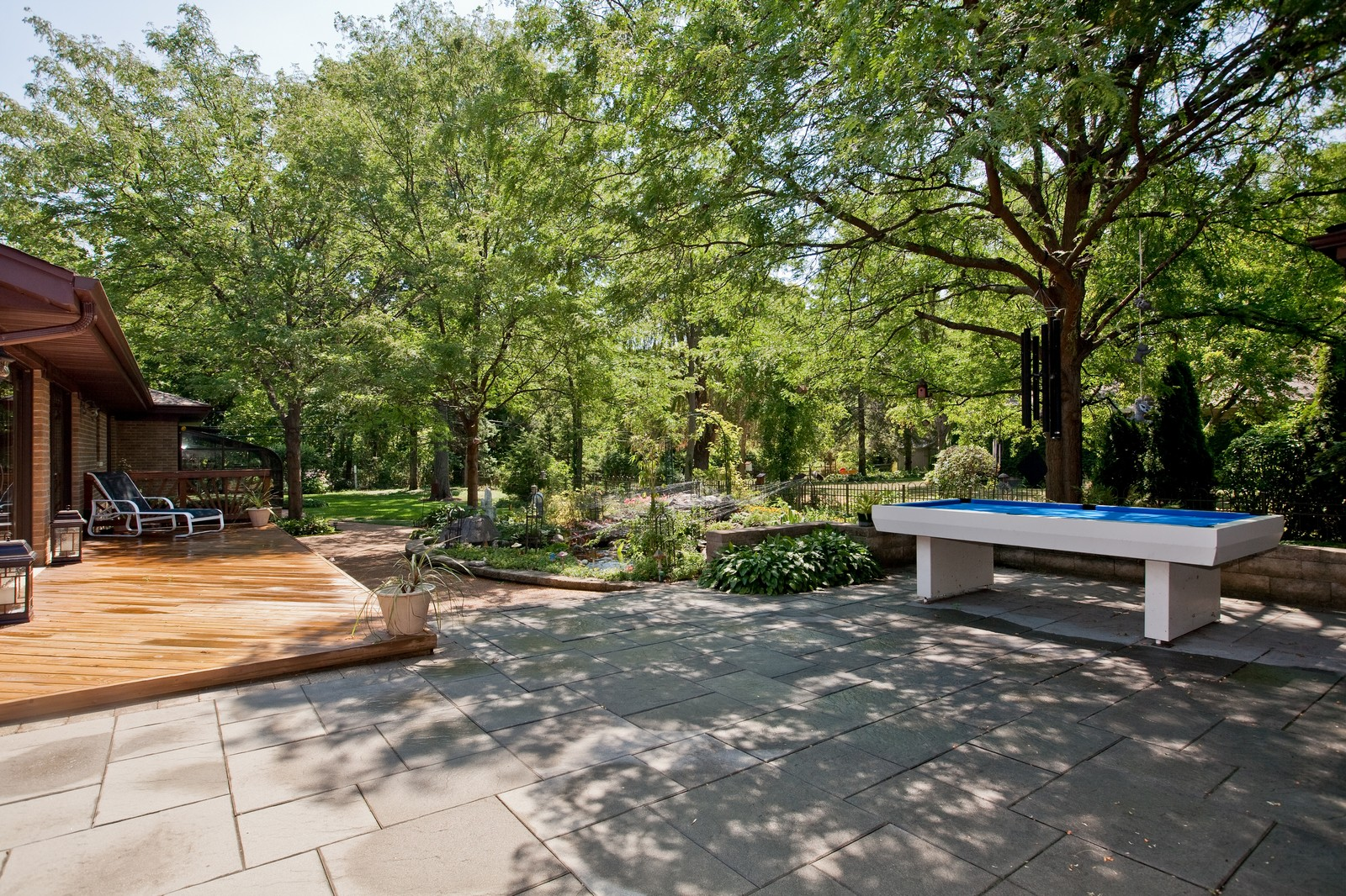 Real Estate Photography - 131 Woodland Dr, Oak Brook, IL, 60523 - Patio