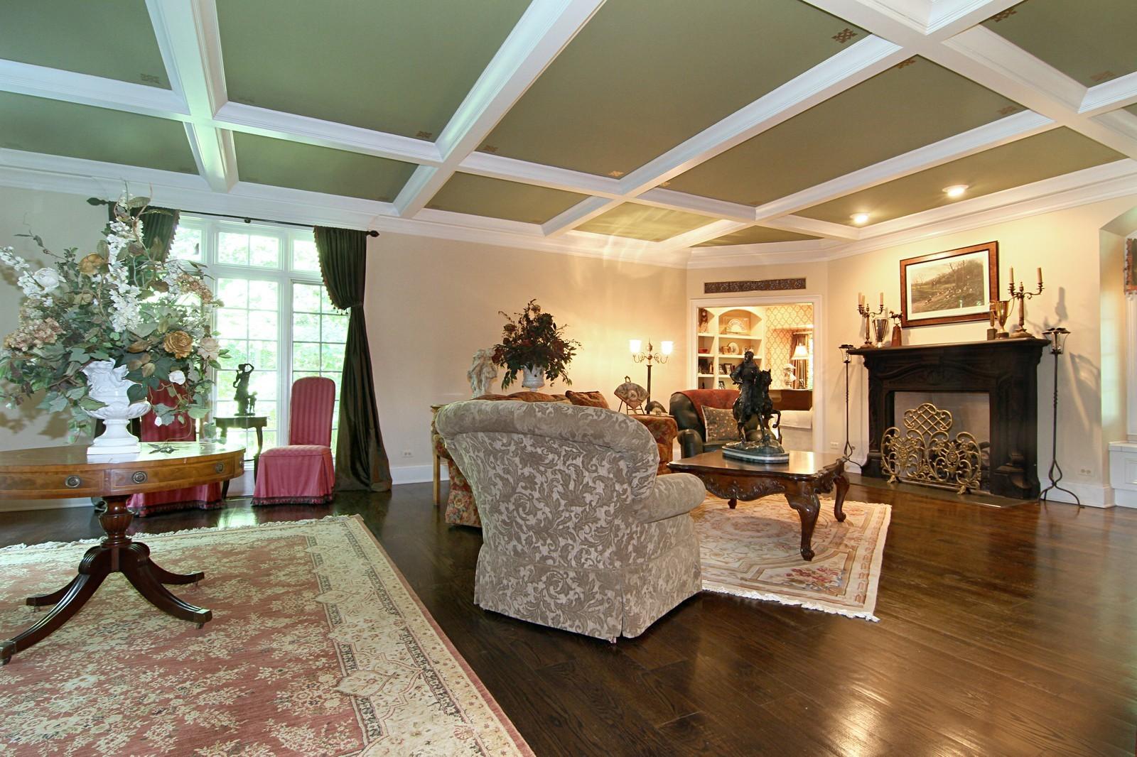 Real Estate Photography - 2901 Glenbriar Dr, St Charles, IL, 60174 - Living Room