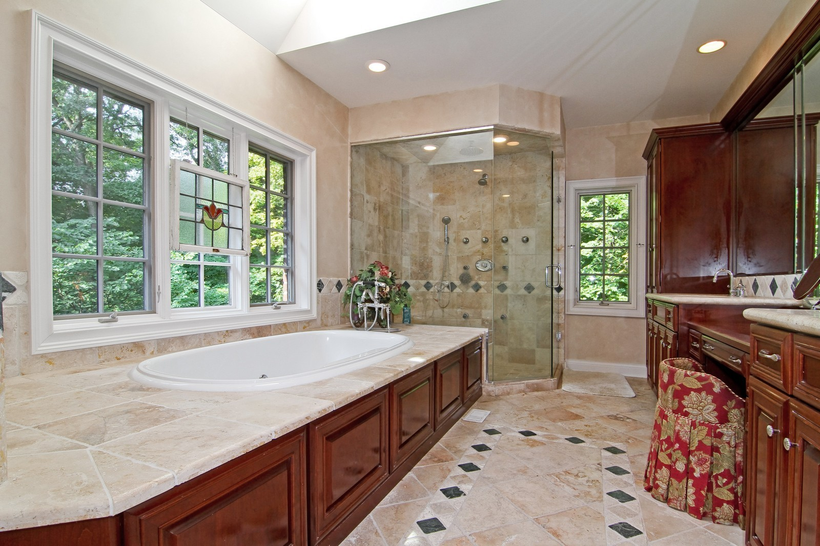 Real Estate Photography - 2901 Glenbriar Dr, St Charles, IL, 60174 - Master Bathroom