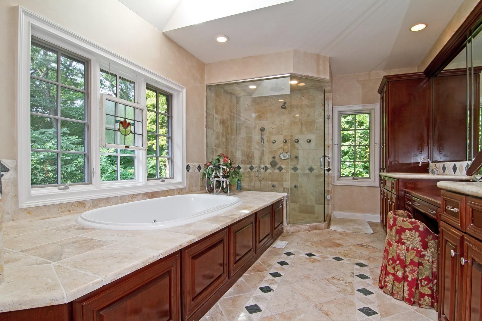 Real Estate Photography - 2901 Glenbriar Dr, St Charles, IL, 60174 - Master Bathroom