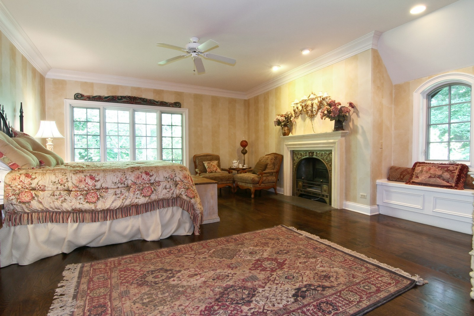Real Estate Photography - 2901 Glenbriar Dr, St Charles, IL, 60174 - Master Bedroom