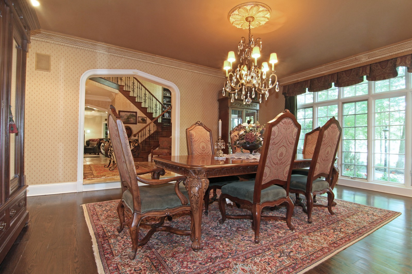 Real Estate Photography - 2901 Glenbriar Dr, St Charles, IL, 60174 - Dining Room