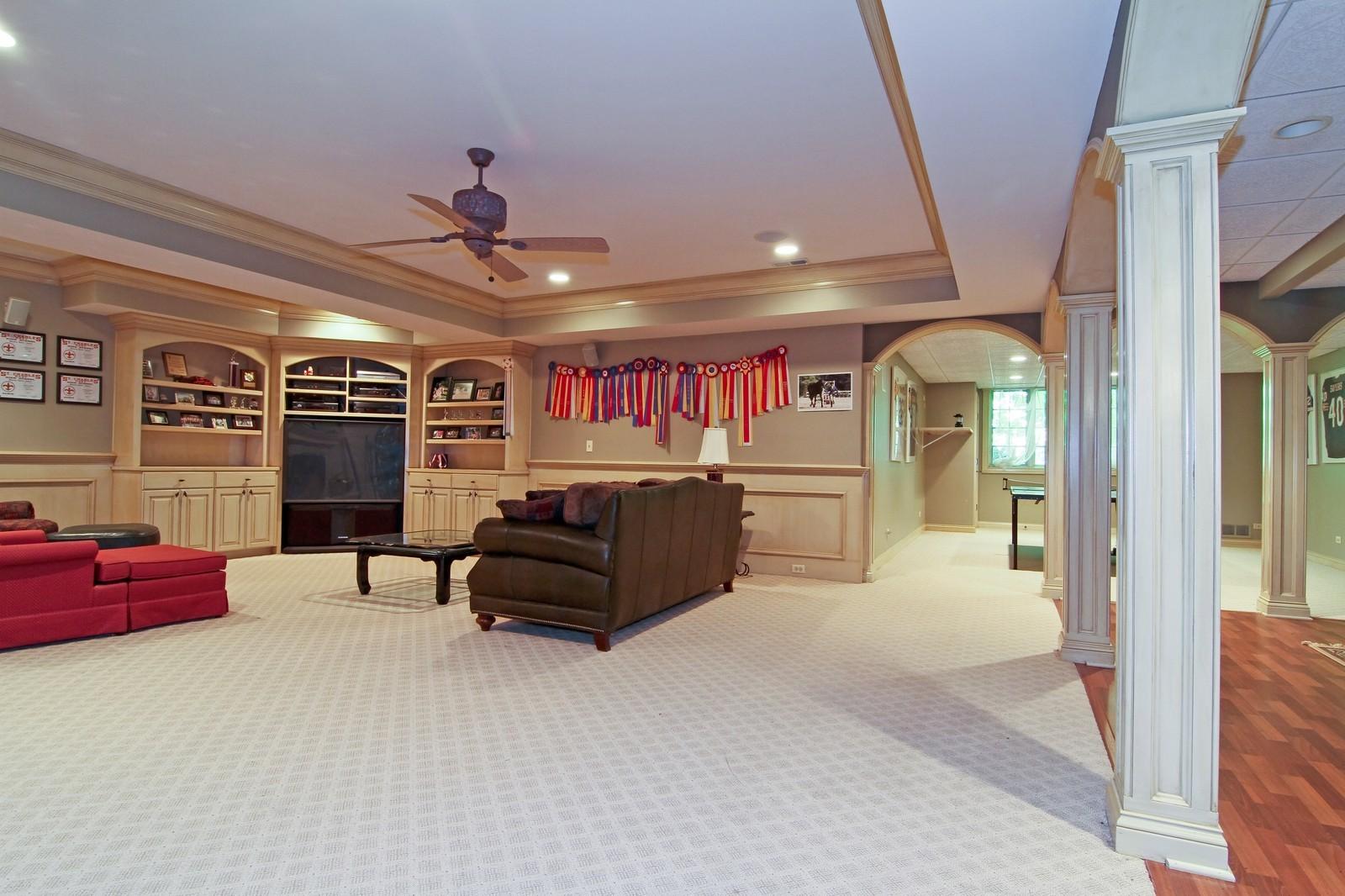 Real Estate Photography - 2901 Glenbriar Dr, St Charles, IL, 60174 - Basement