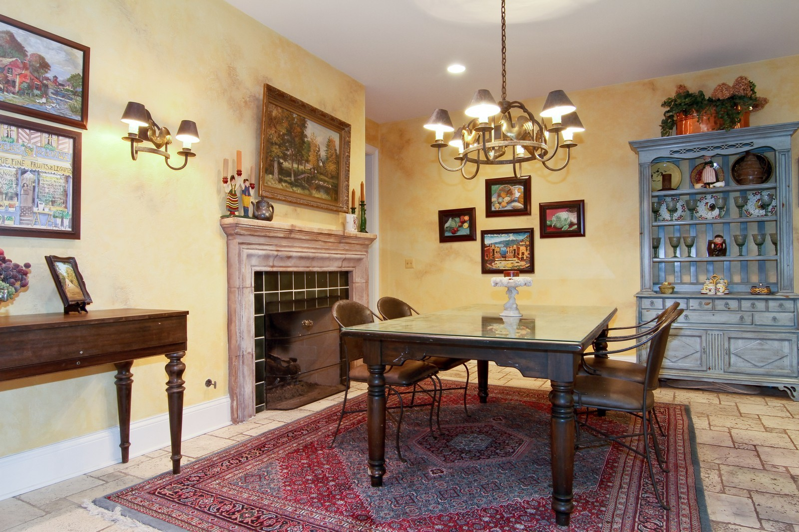 Real Estate Photography - 2901 Glenbriar Dr, St Charles, IL, 60174 - Breakfast Area