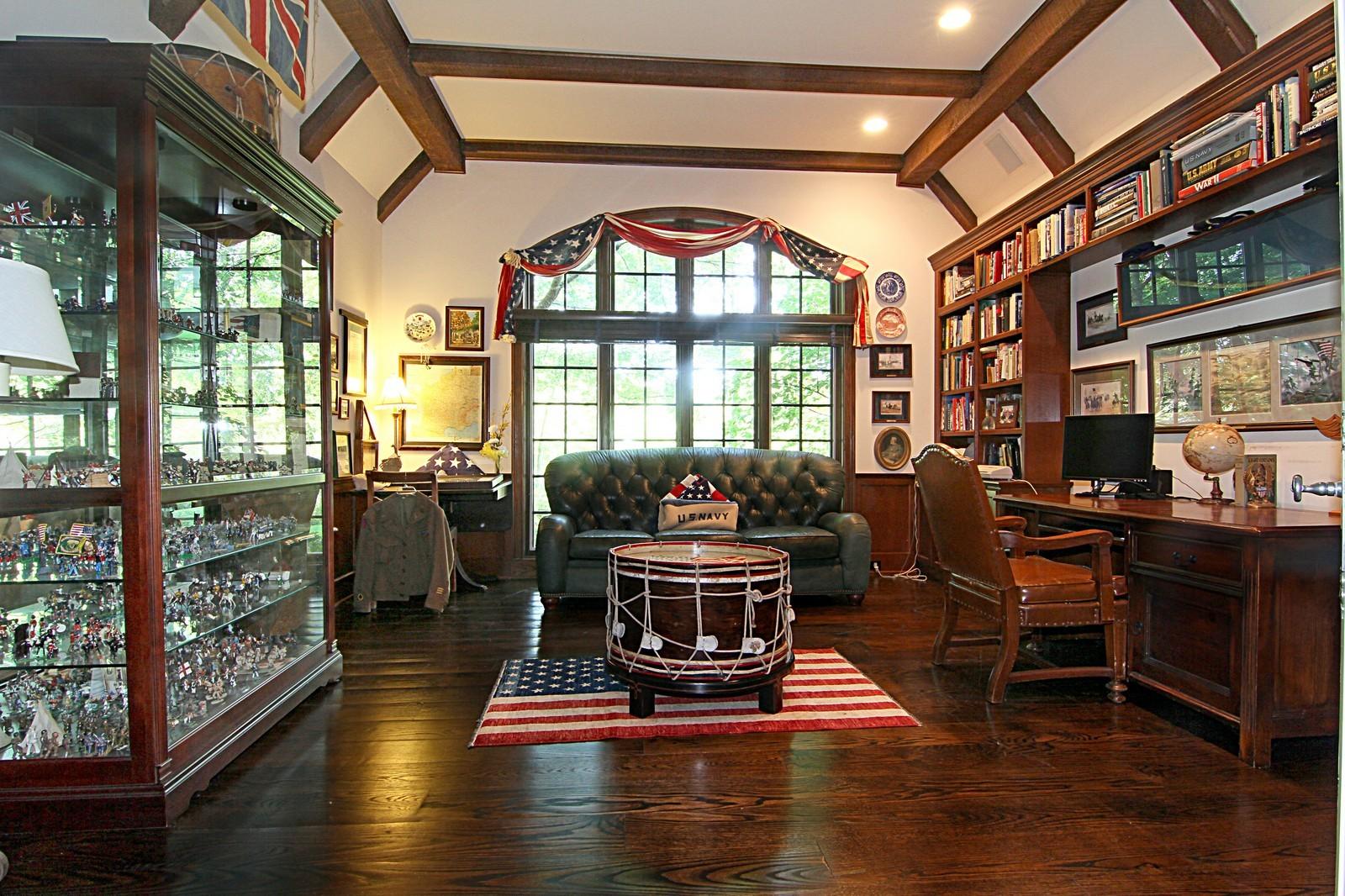 Real Estate Photography - 2901 Glenbriar Dr, St Charles, IL, 60174 - Den