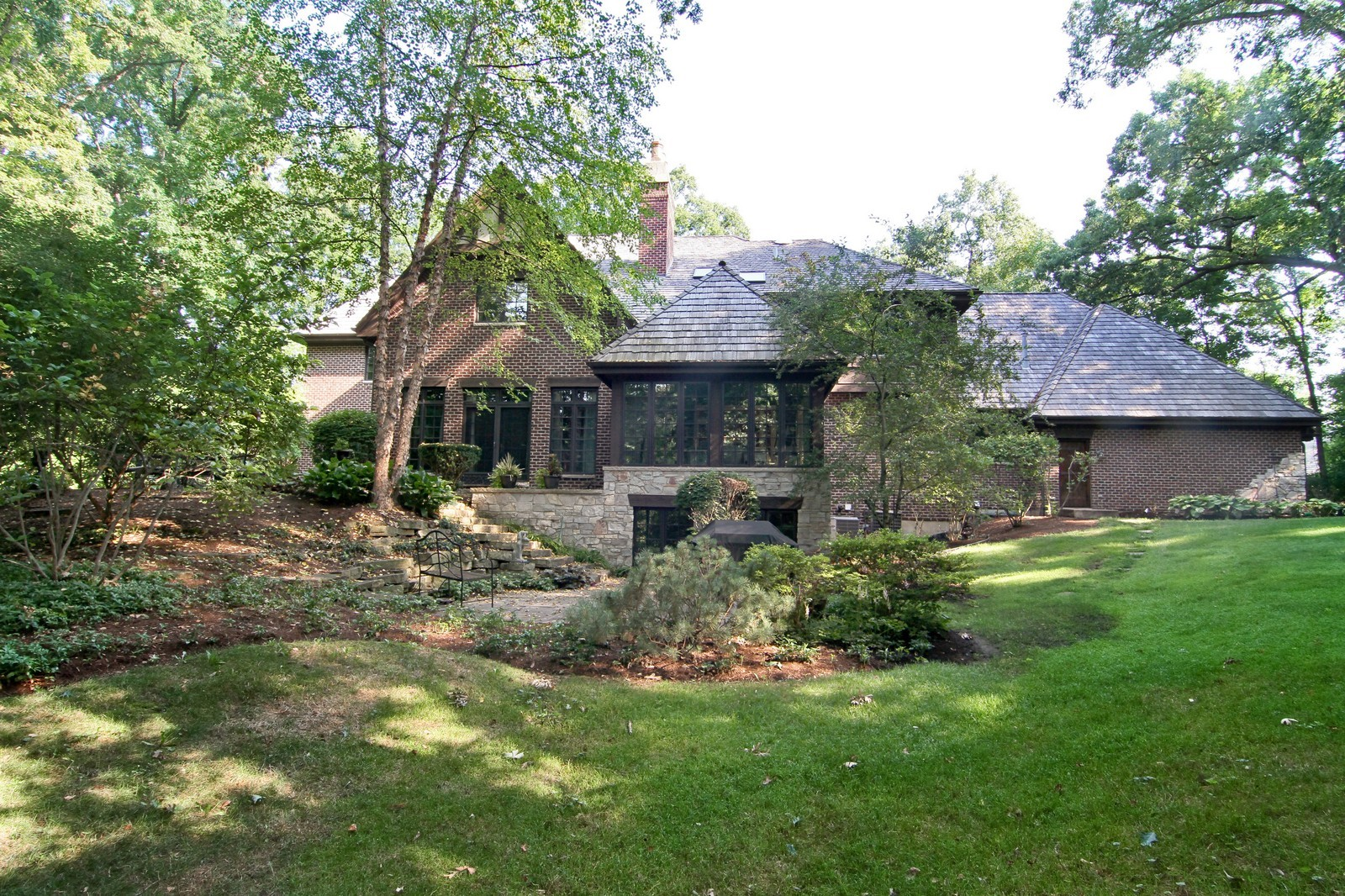 Real Estate Photography - 2901 Glenbriar Dr, St Charles, IL, 60174 - Rear View