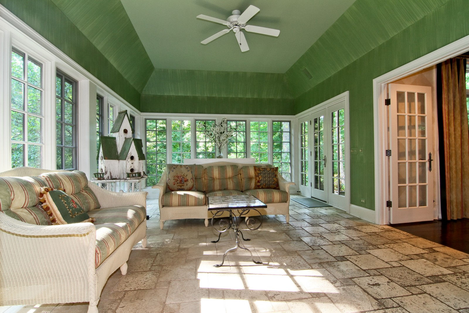 Real Estate Photography - 2901 Glenbriar Dr, St Charles, IL, 60174 - Sun Room