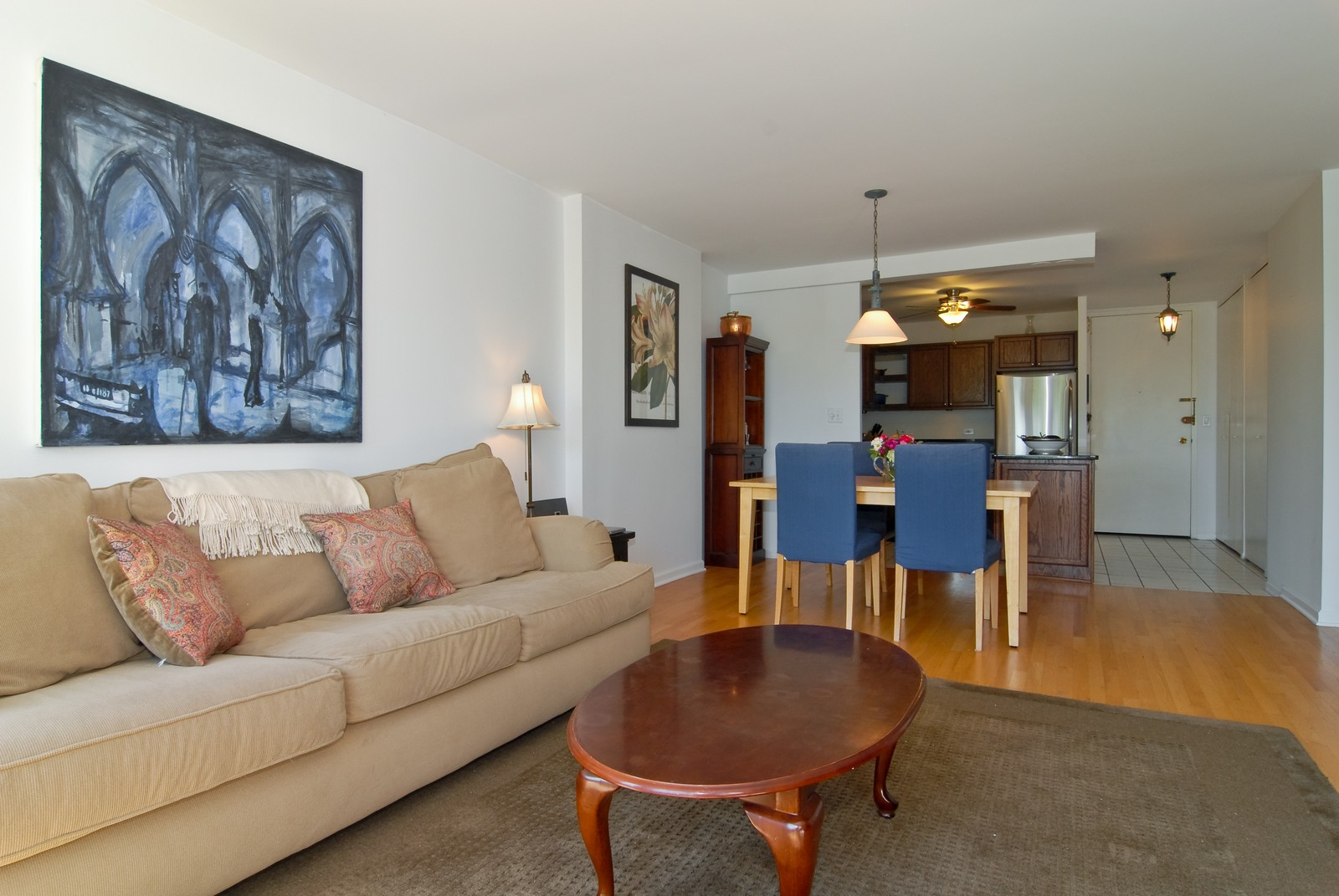 Real Estate Photography - 1660 N LaSalle, Unit 409, Chicago, IL, 60614 - Living Room