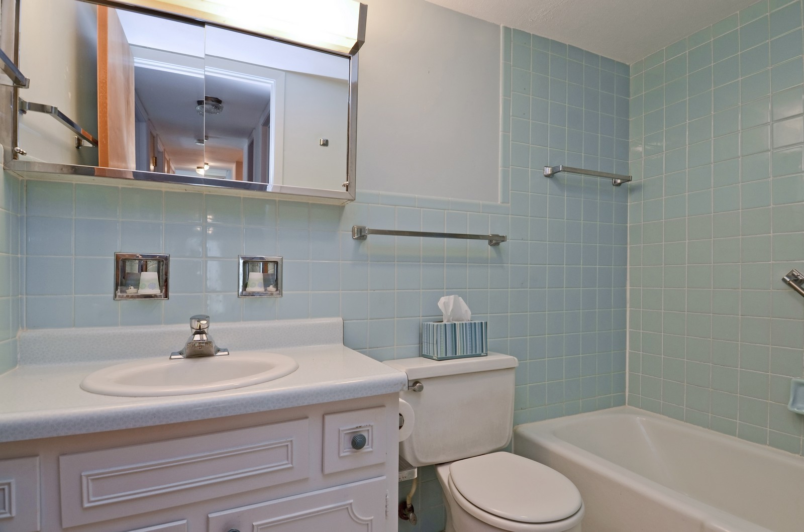 Real Estate Photography - 5540 Walnut, Unit 35C, Downers Grove, IL, 60515 - Master Bathroom