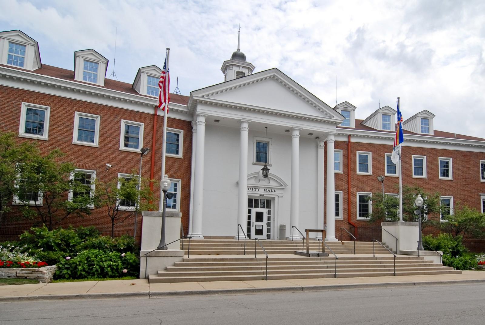 Image result for park ridge, il city hall