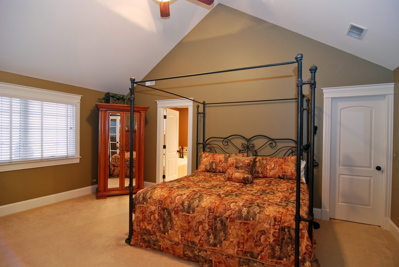 Real Estate Photography - 1064 Cherry Lane, Beecher, IL, 60401 - Master Bedroom