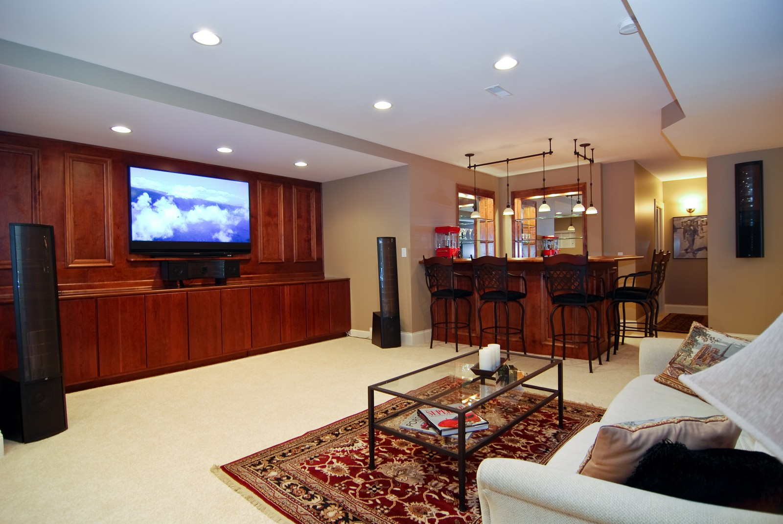 Real Estate Photography - 1064 Cherry Lane, Beecher, IL, 60401 - Lower Level