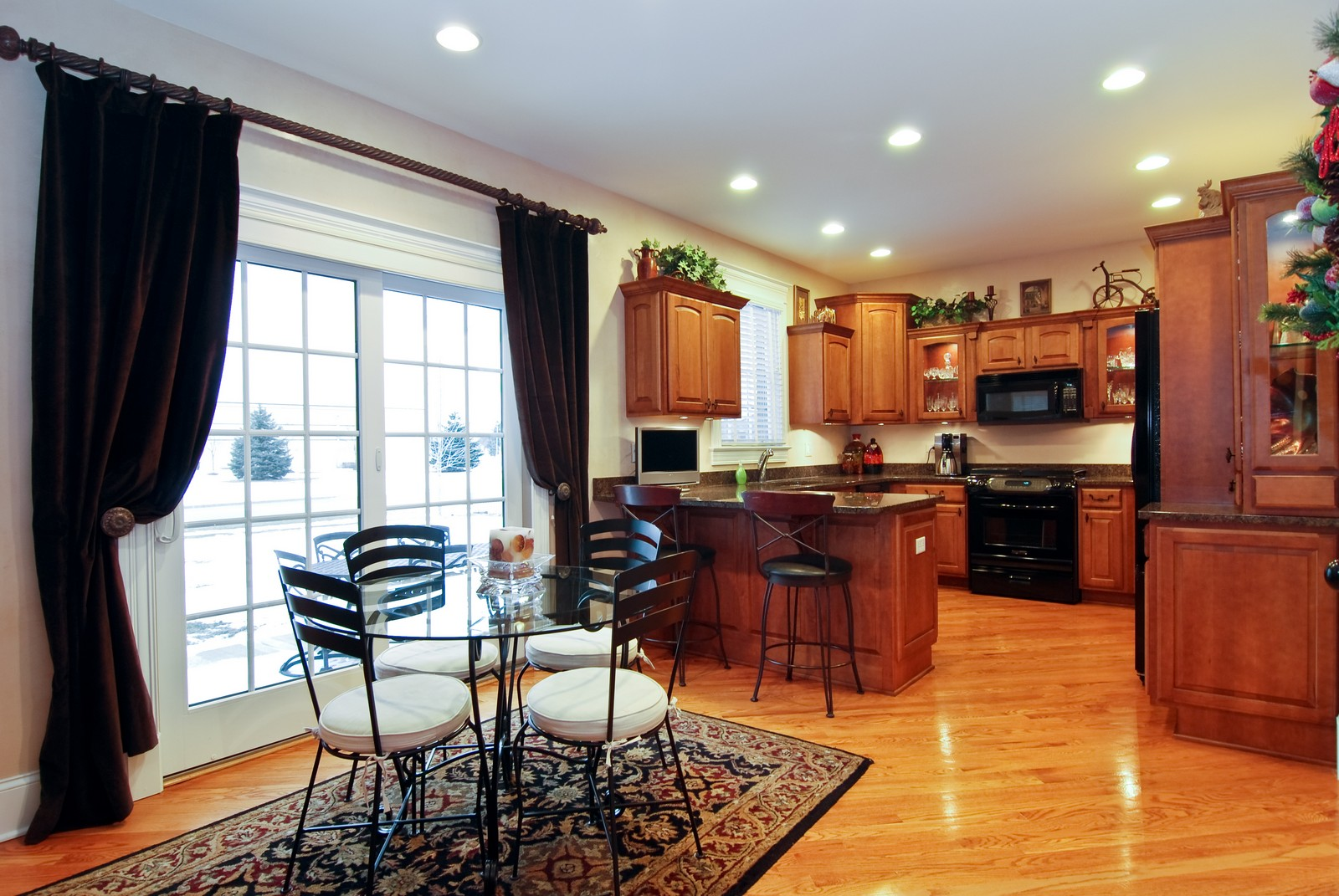 Real Estate Photography - 1064 Cherry Lane, Beecher, IL, 60401 - Kitchen / Breakfast Room
