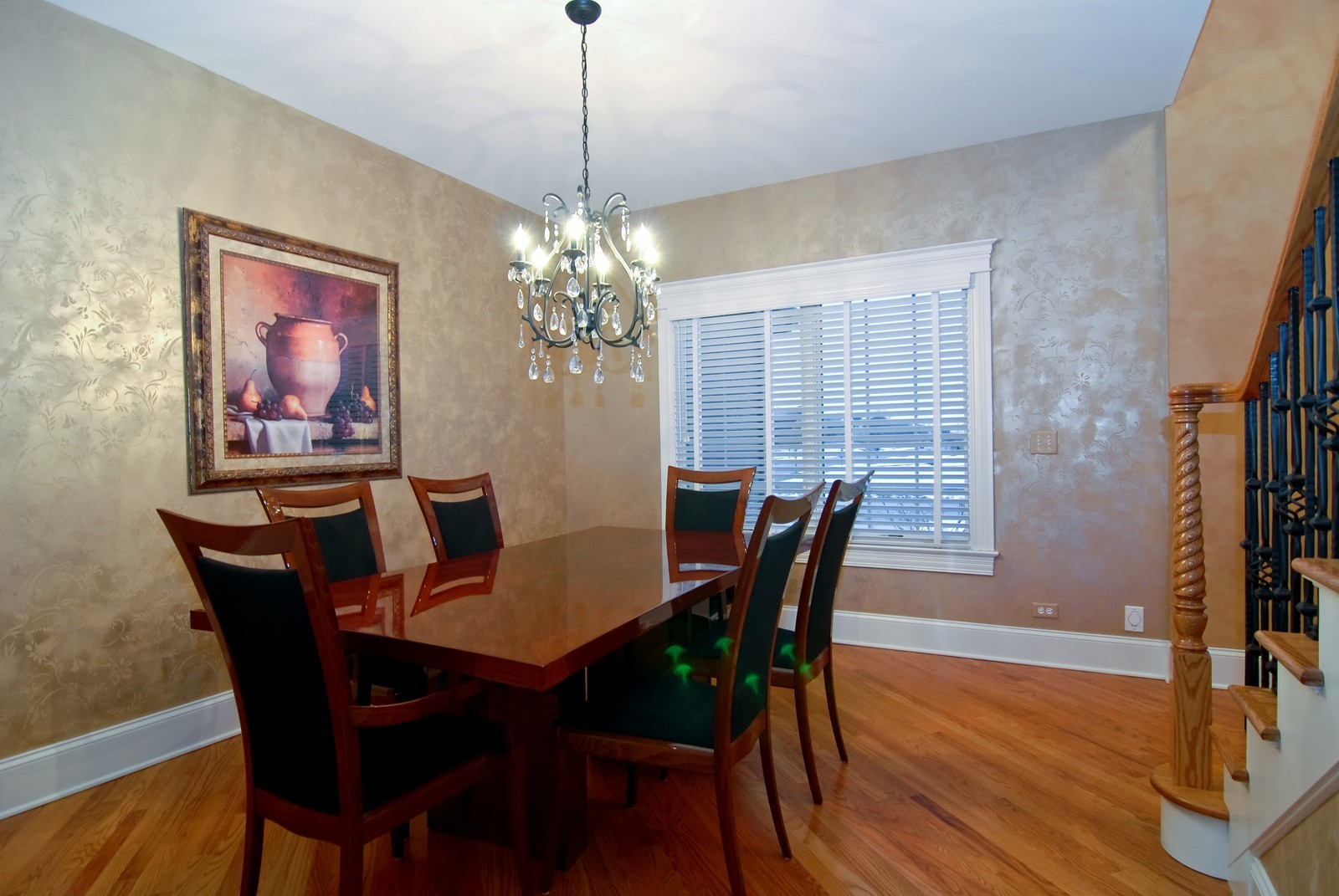 Real Estate Photography - 1064 Cherry Lane, Beecher, IL, 60401 - Dining Room