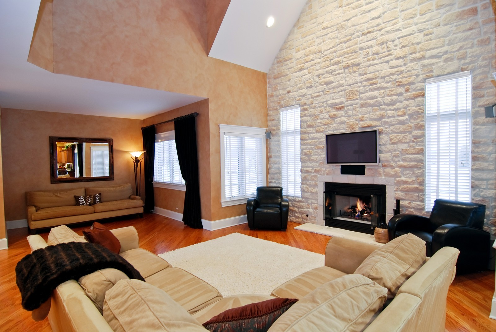 Real Estate Photography - 1064 Cherry Lane, Beecher, IL, 60401 - Family Room