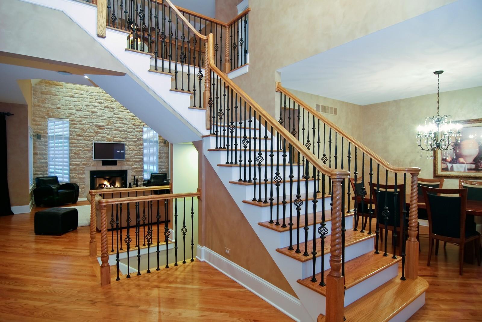 Real Estate Photography - 1064 Cherry Lane, Beecher, IL, 60401 - Foyer