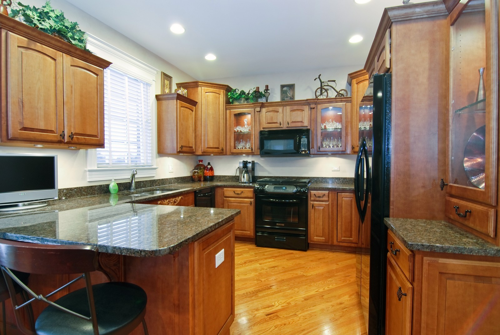 Real Estate Photography - 1064 Cherry Lane, Beecher, IL, 60401 - Kitchen
