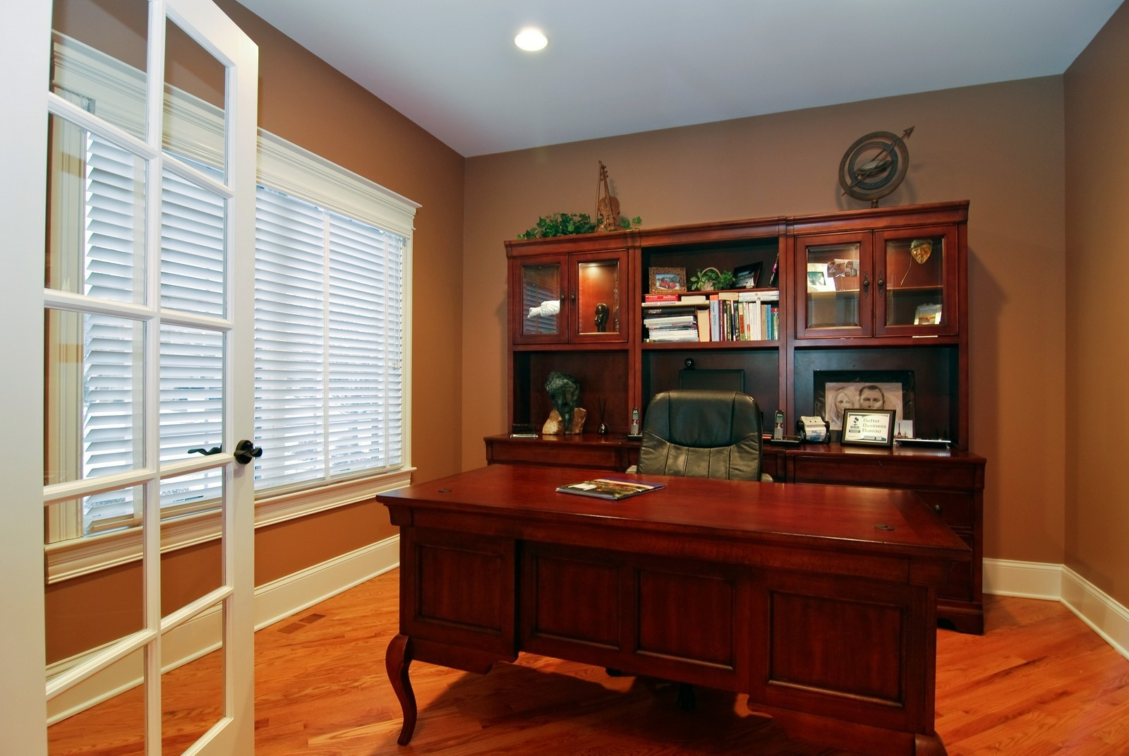 Real Estate Photography - 1064 Cherry Lane, Beecher, IL, 60401 - Office