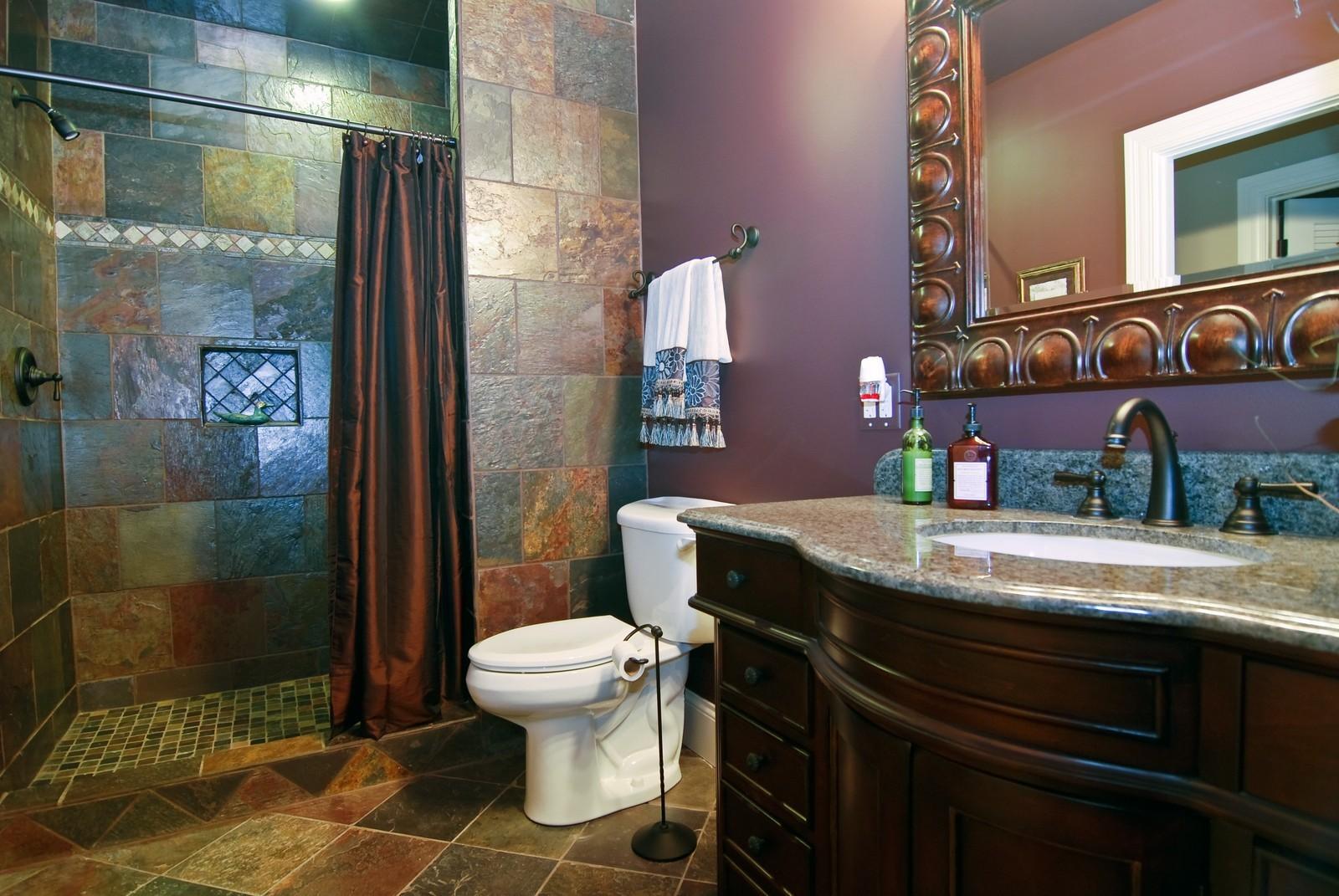 Real Estate Photography - 1064 Cherry Lane, Beecher, IL, 60401 - Bathroom