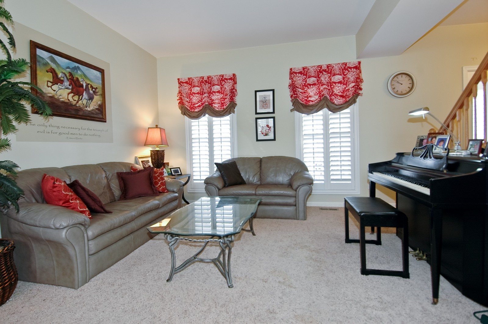 Real Estate Photography - 333 Talismon, Crystal Lake, IL, 60014 - Living Room