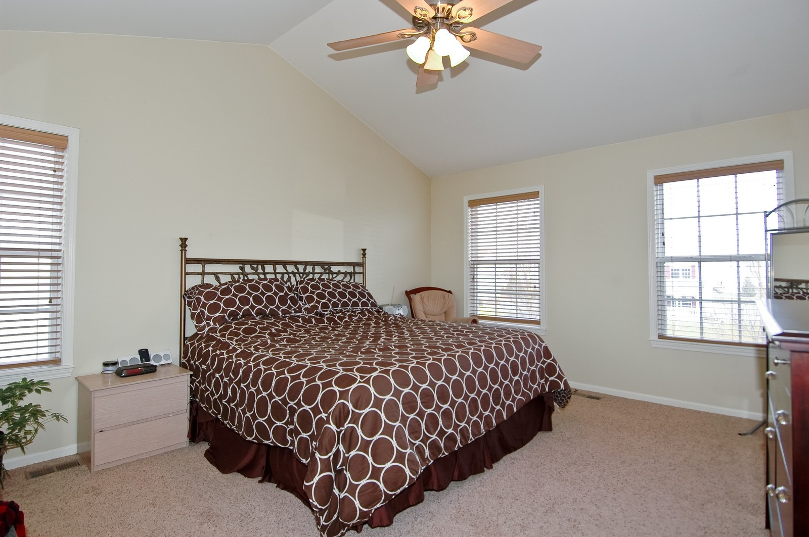 Real Estate Photography - 333 Talismon, Crystal Lake, IL, 60014 - Master Bedroom