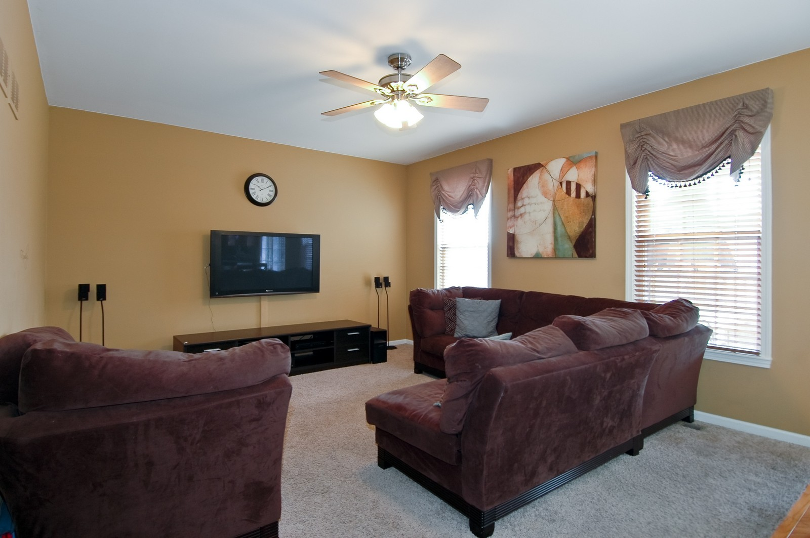 Real Estate Photography - 333 Talismon, Crystal Lake, IL, 60014 - Family Room