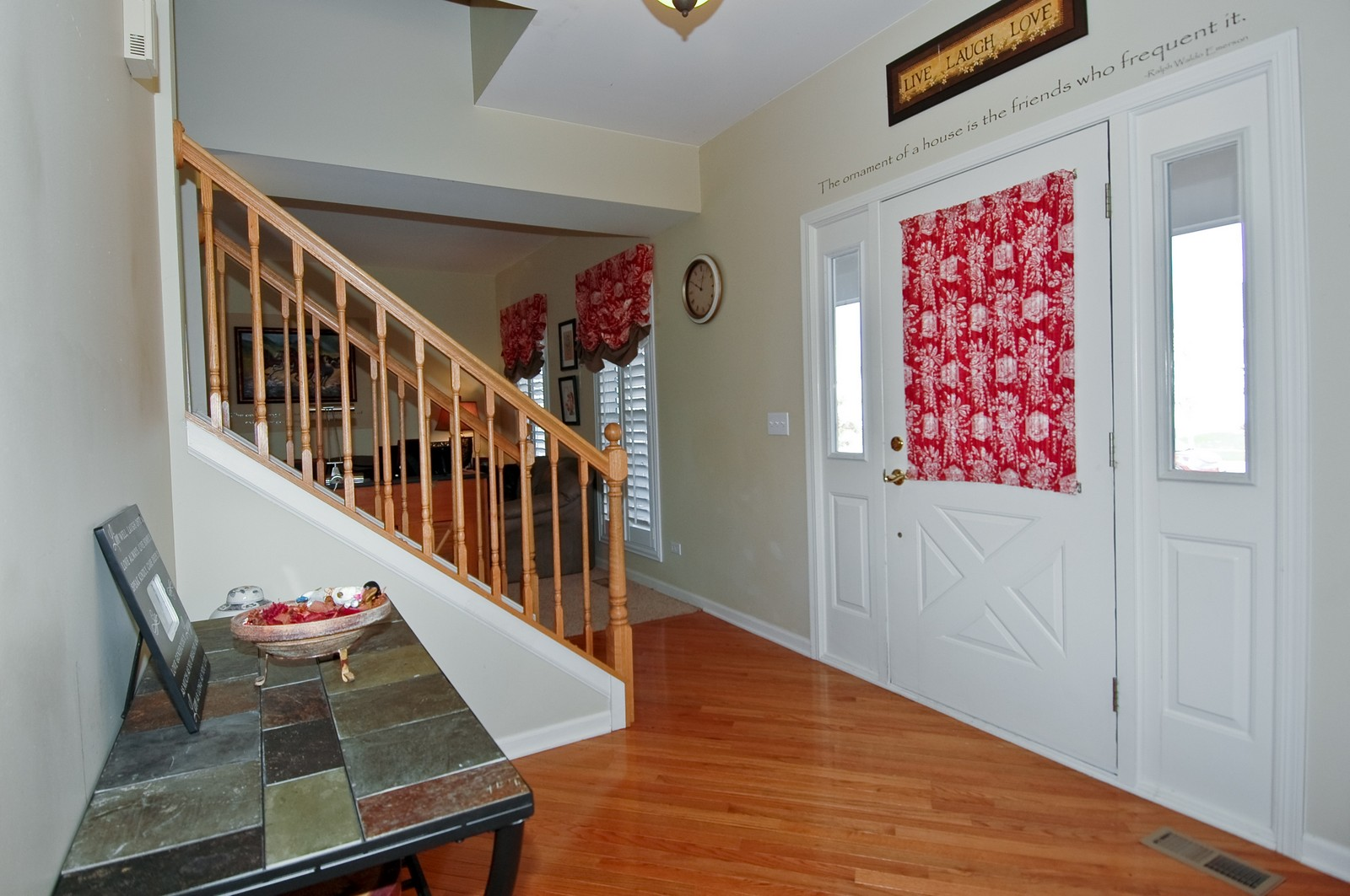 Real Estate Photography - 333 Talismon, Crystal Lake, IL, 60014 - Foyer