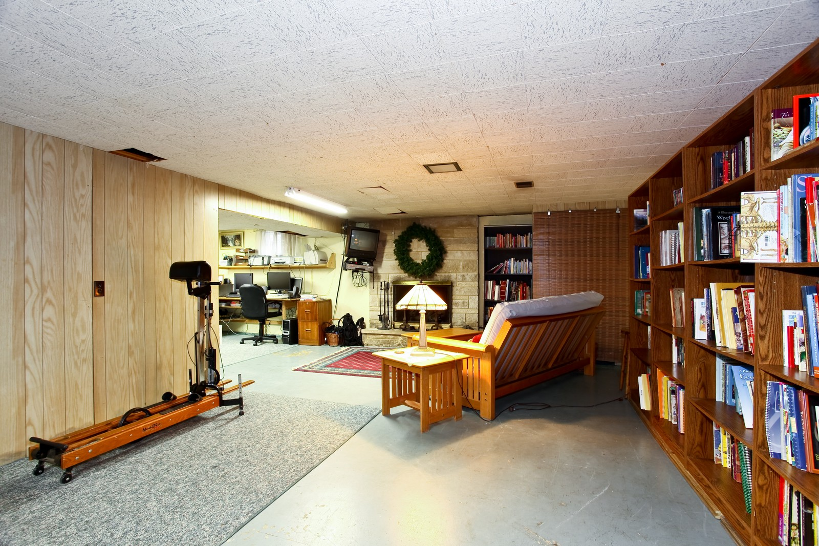 Real Estate Photography - 1515 Meadows Road, Geneva, IL, 60134 - Basement