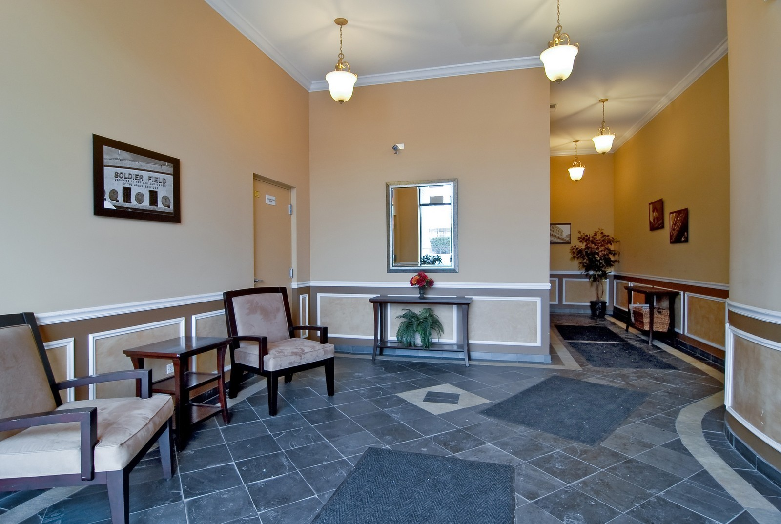 Real Estate Photography - 2510 W. Irving Park Road, 409, Chicago, IL, 60618 - Lobby
