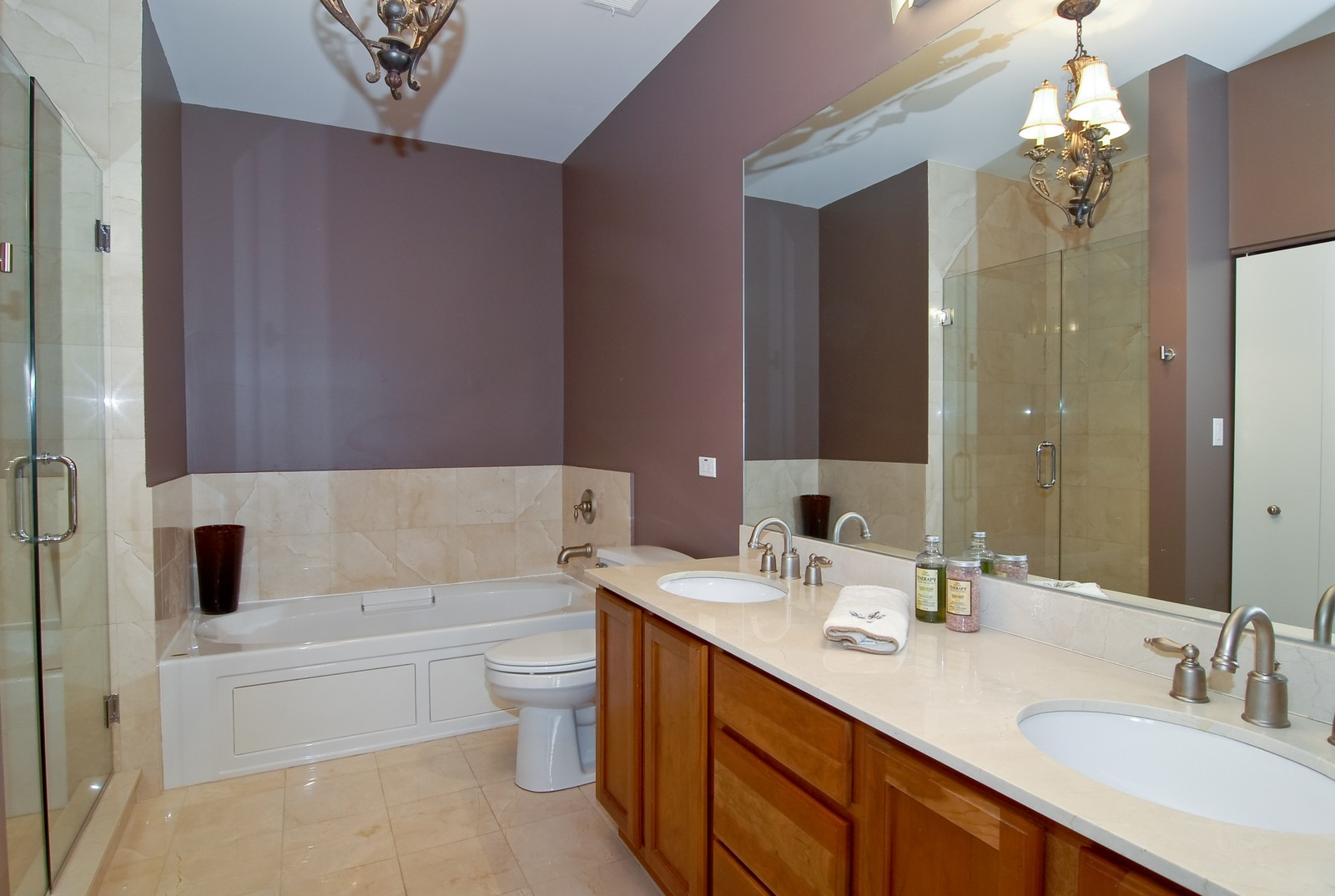 Real Estate Photography - 2510 W. Irving Park Road, 409, Chicago, IL, 60618 - Master Bathroom
