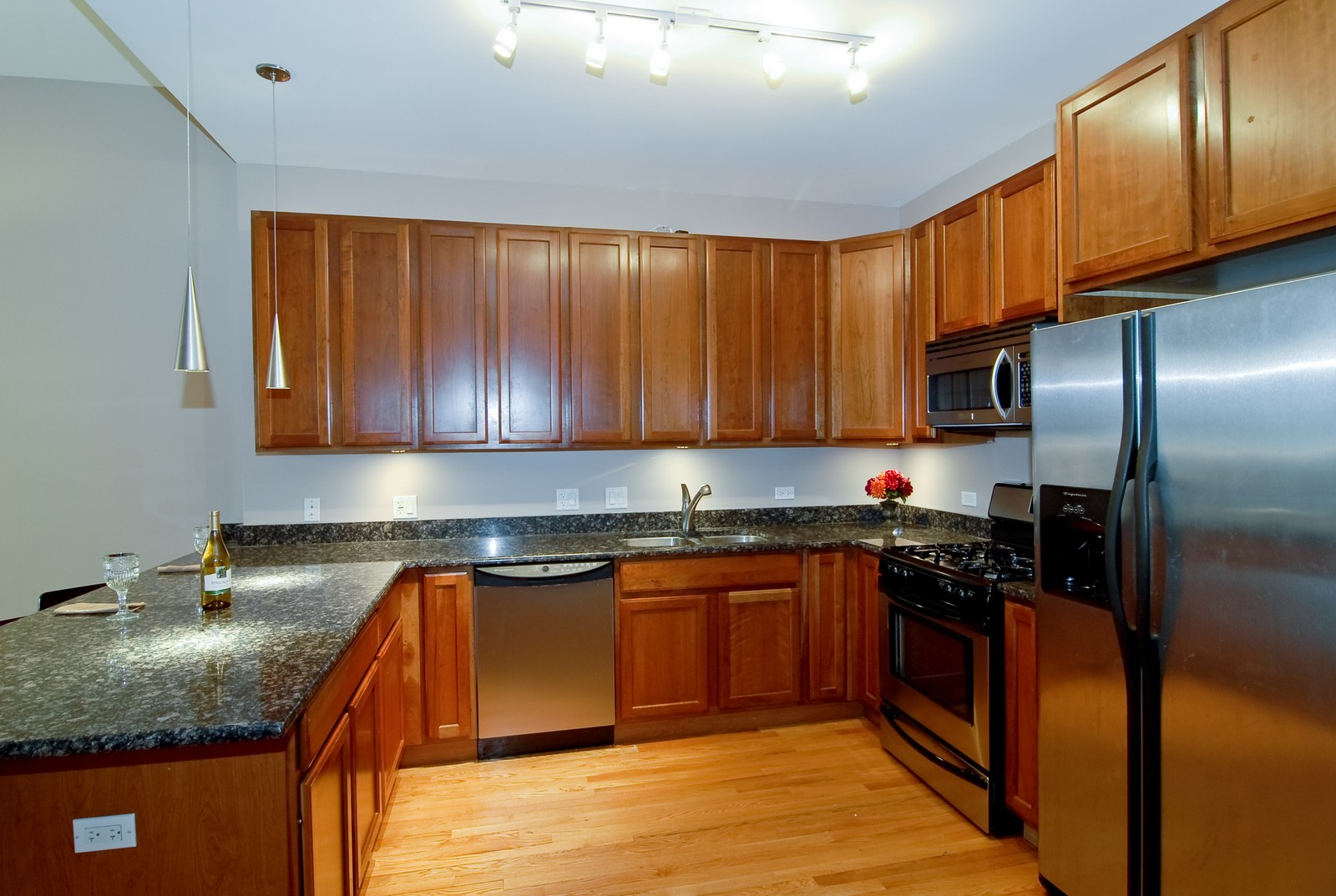 Real Estate Photography - 2510 W. Irving Park Road, 409, Chicago, IL, 60618 - Kitchen
