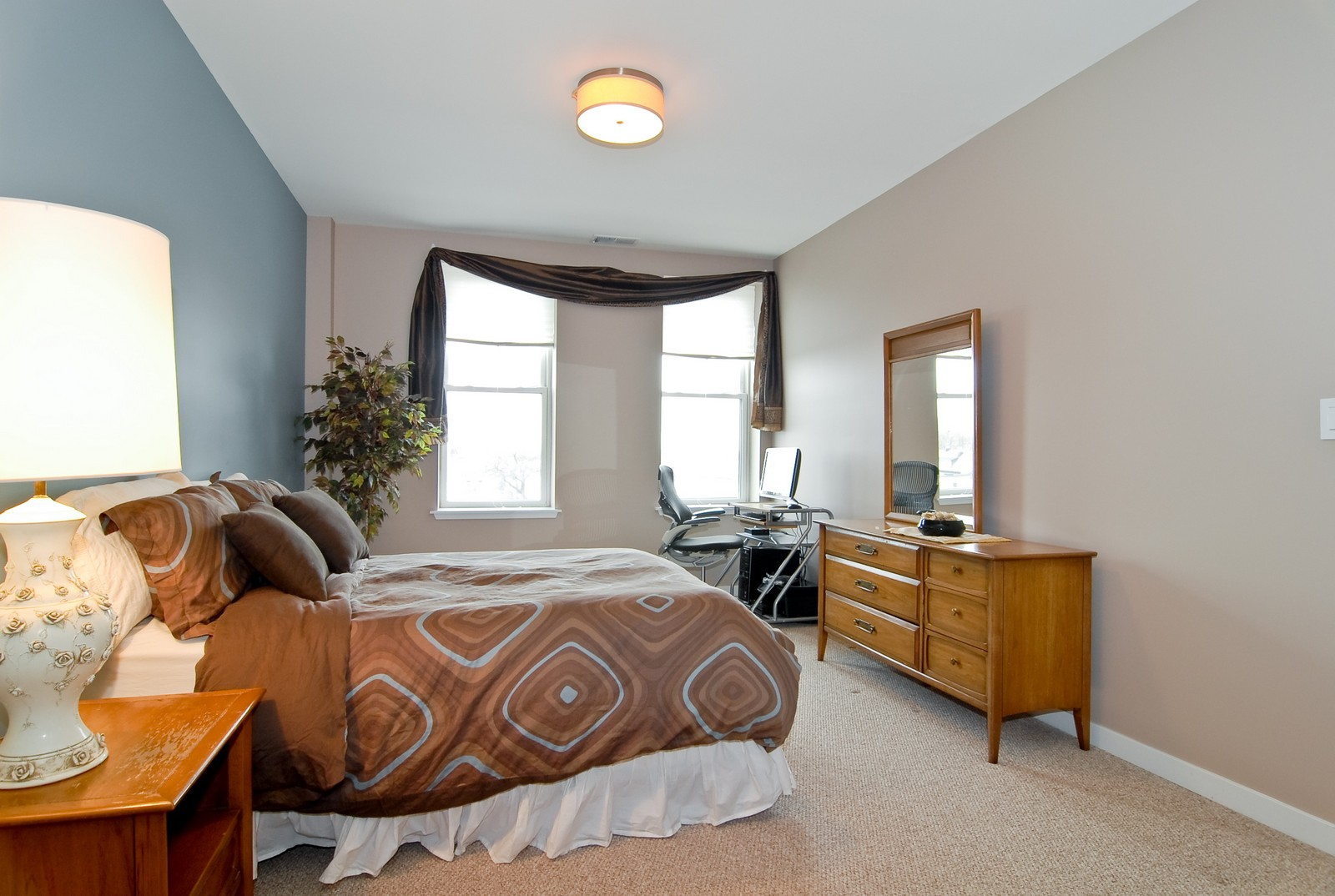 Real Estate Photography - 2510 W. Irving Park Road, 409, Chicago, IL, 60618 - Master Bedroom