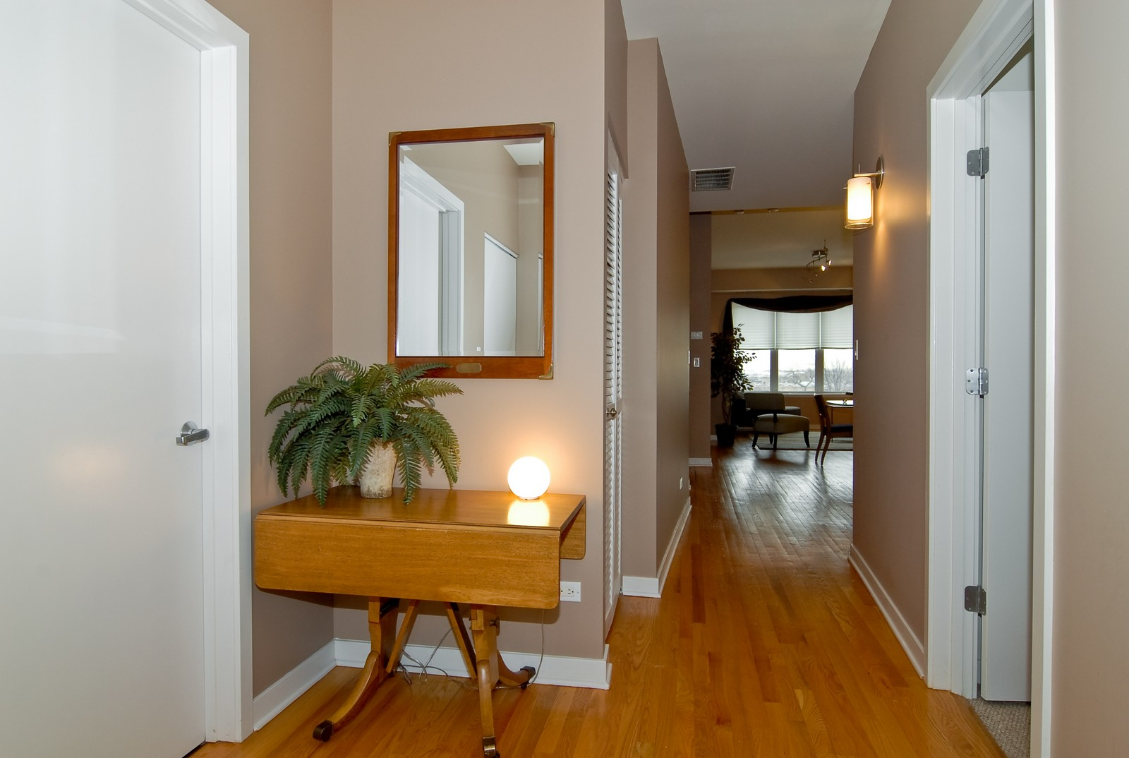Real Estate Photography - 2510 W. Irving Park Road, 409, Chicago, IL, 60618 - Hallway