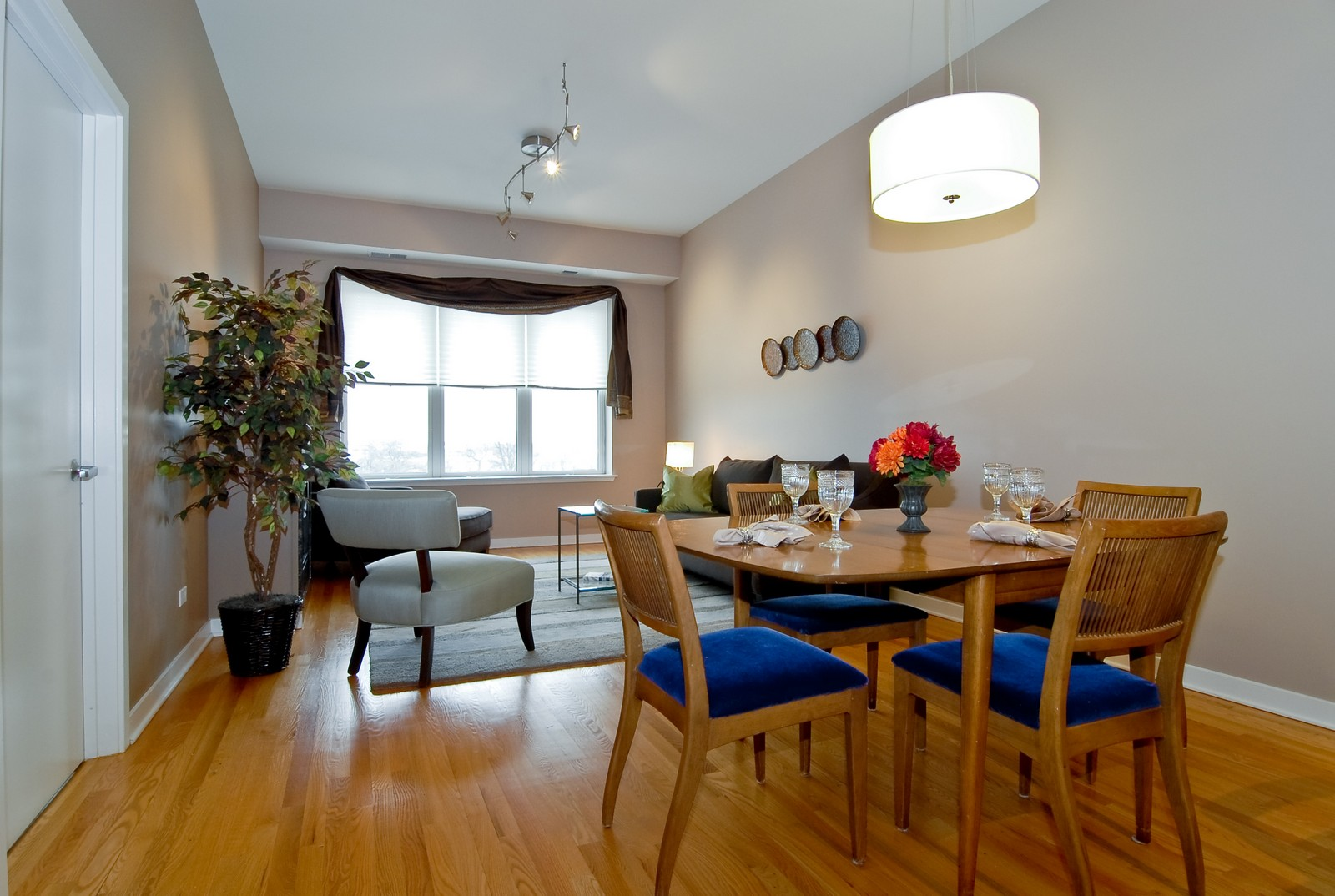 Real Estate Photography - 2510 W. Irving Park Road, 409, Chicago, IL, 60618 - Living Room / Dining Room