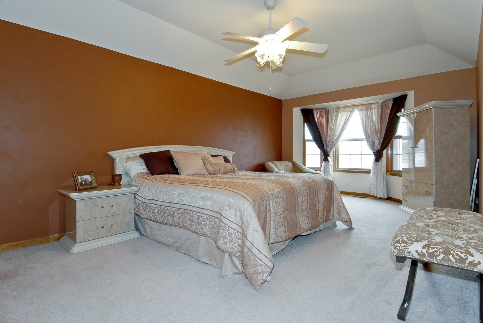 Real Estate Photography - 13232 Birdseye Court, Plainfield, IL, 60585 - Master Bedroom