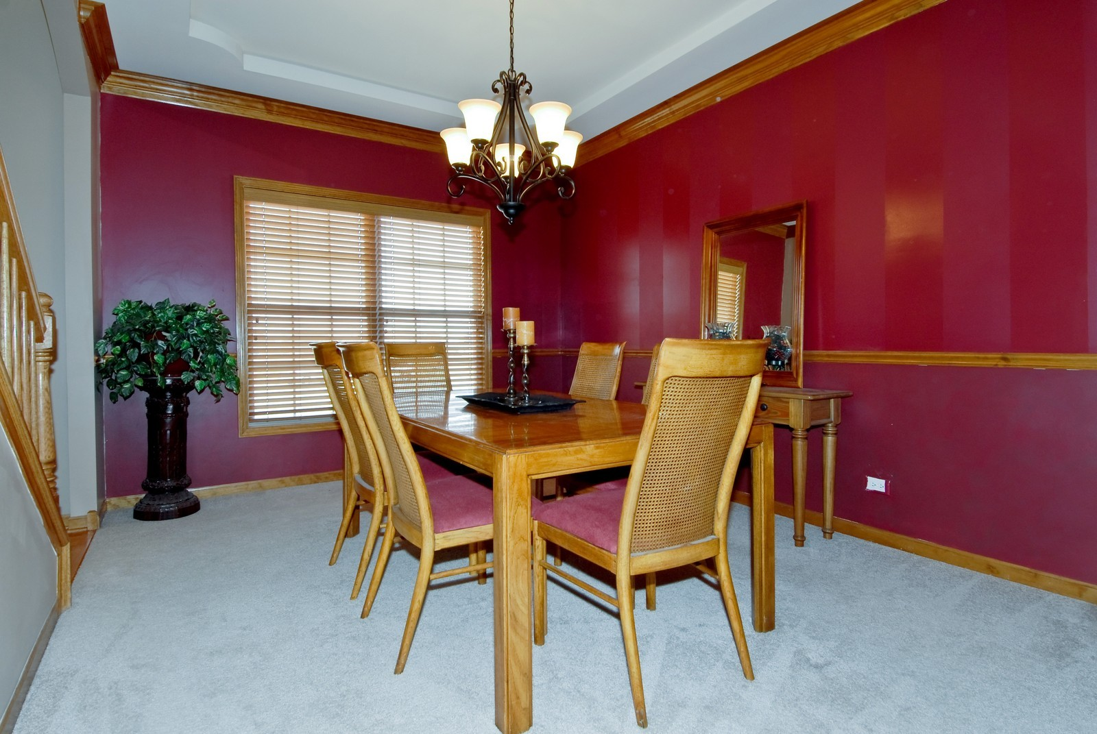 Real Estate Photography - 13232 Birdseye Court, Plainfield, IL, 60585 - Dining Room