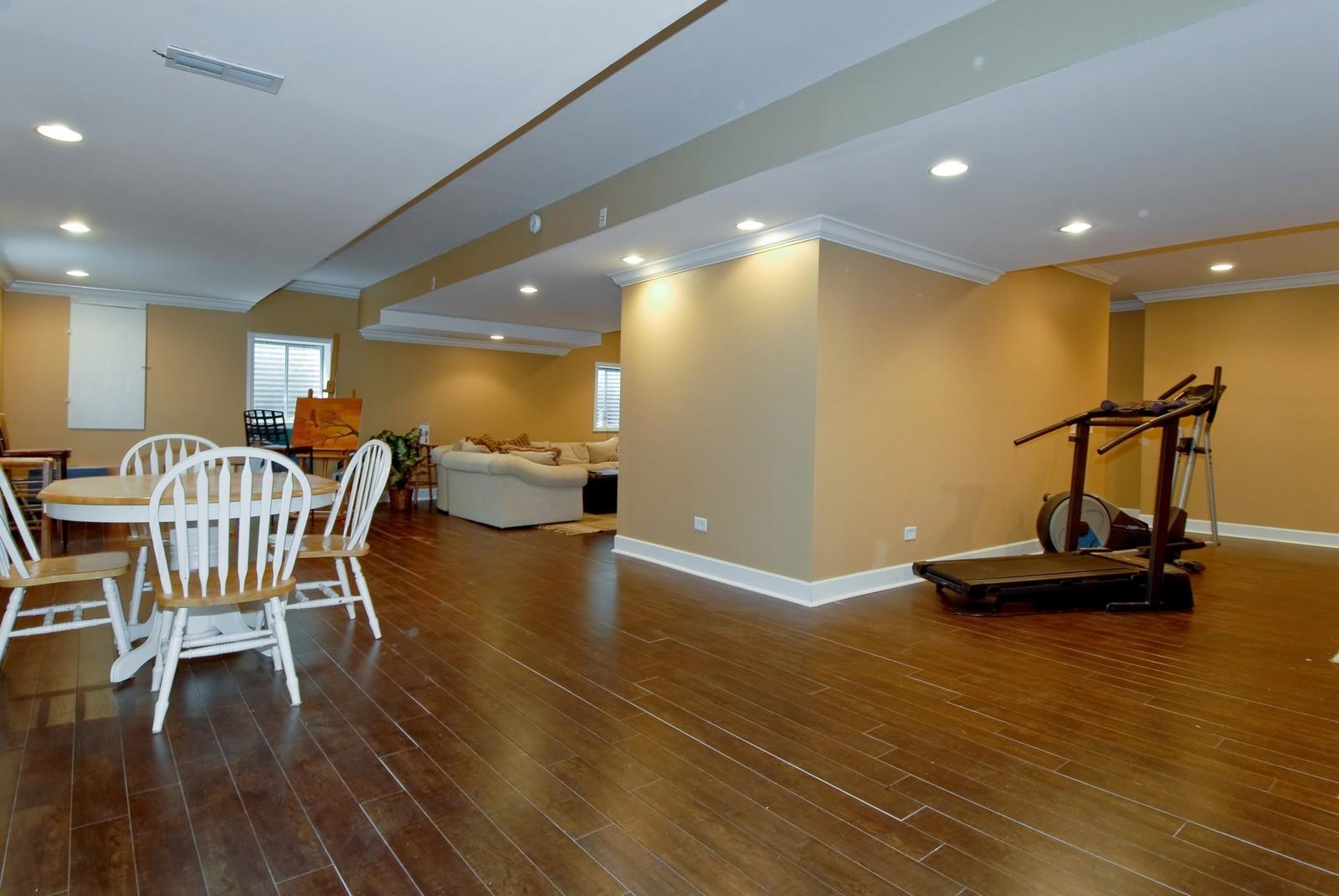 Real Estate Photography - 13232 Birdseye Court, Plainfield, IL, 60585 - Basement