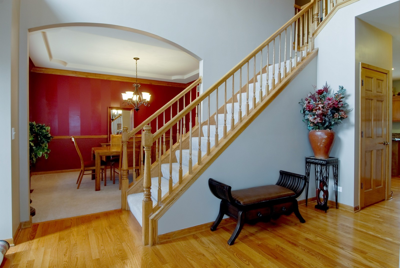 Real Estate Photography - 13232 Birdseye Court, Plainfield, IL, 60585 - Foyer