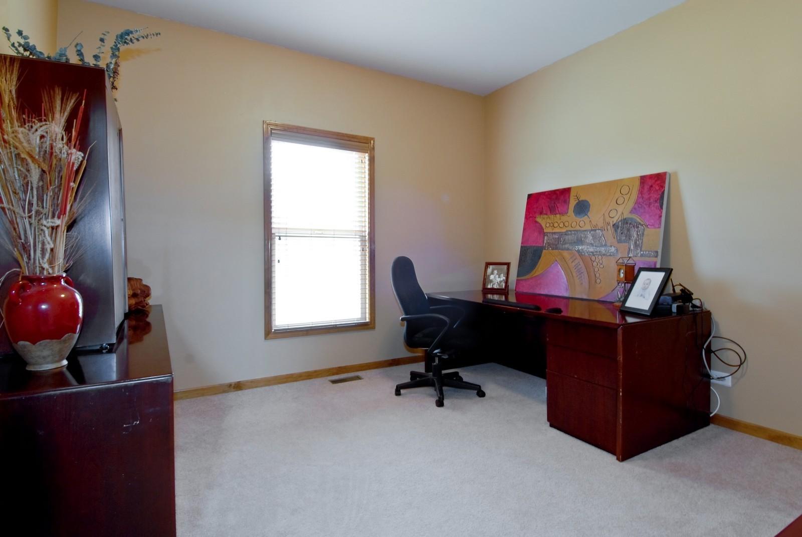Real Estate Photography - 13232 Birdseye Court, Plainfield, IL, 60585 - Den