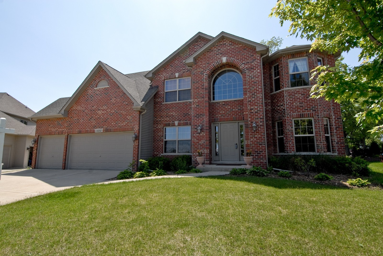 Real Estate Photography - 13232 Birdseye Court, Plainfield, IL, 60585 - Front View