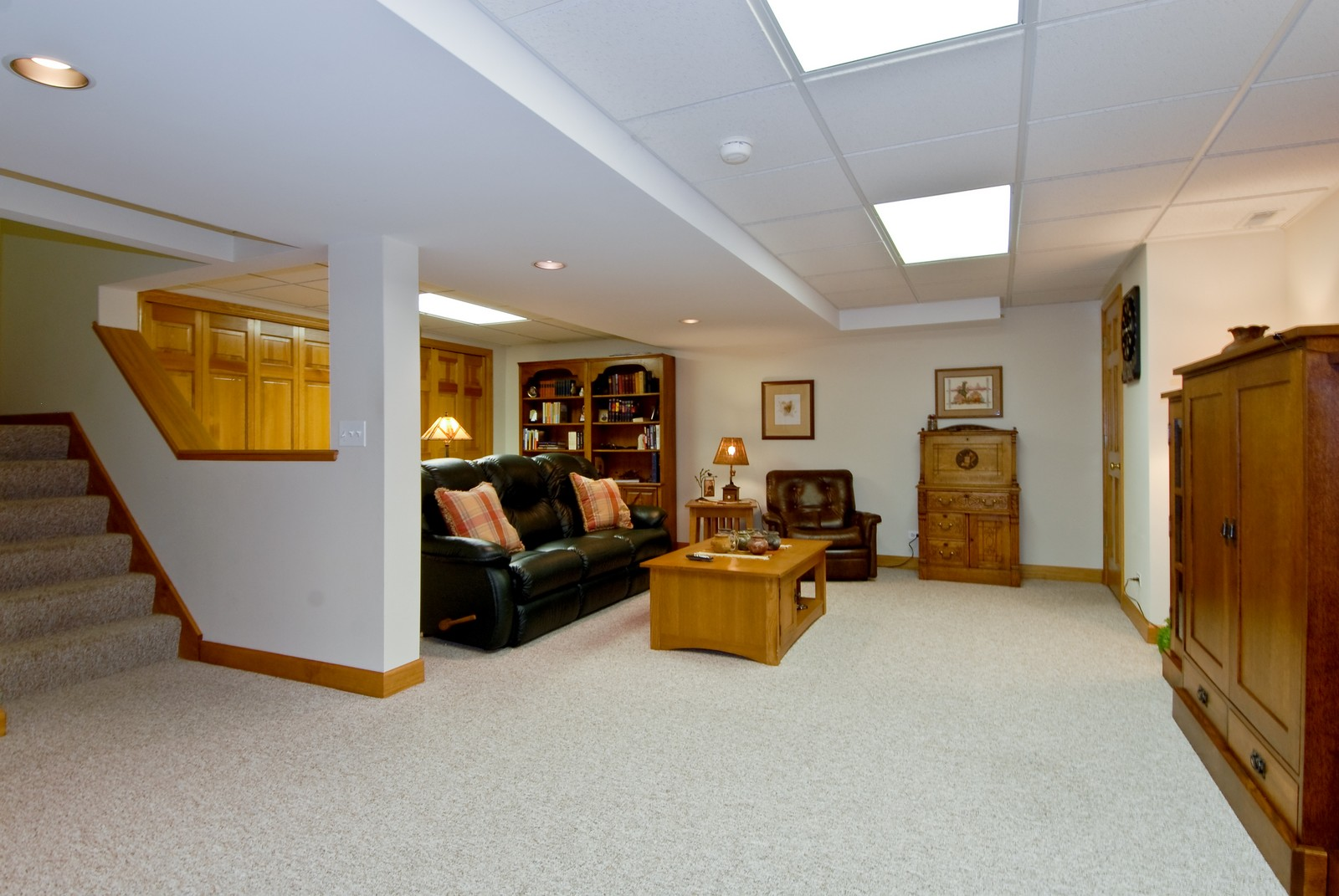 Real Estate Photography - 3742 King George Ln, St. Charles, IL, 60174 - Basement