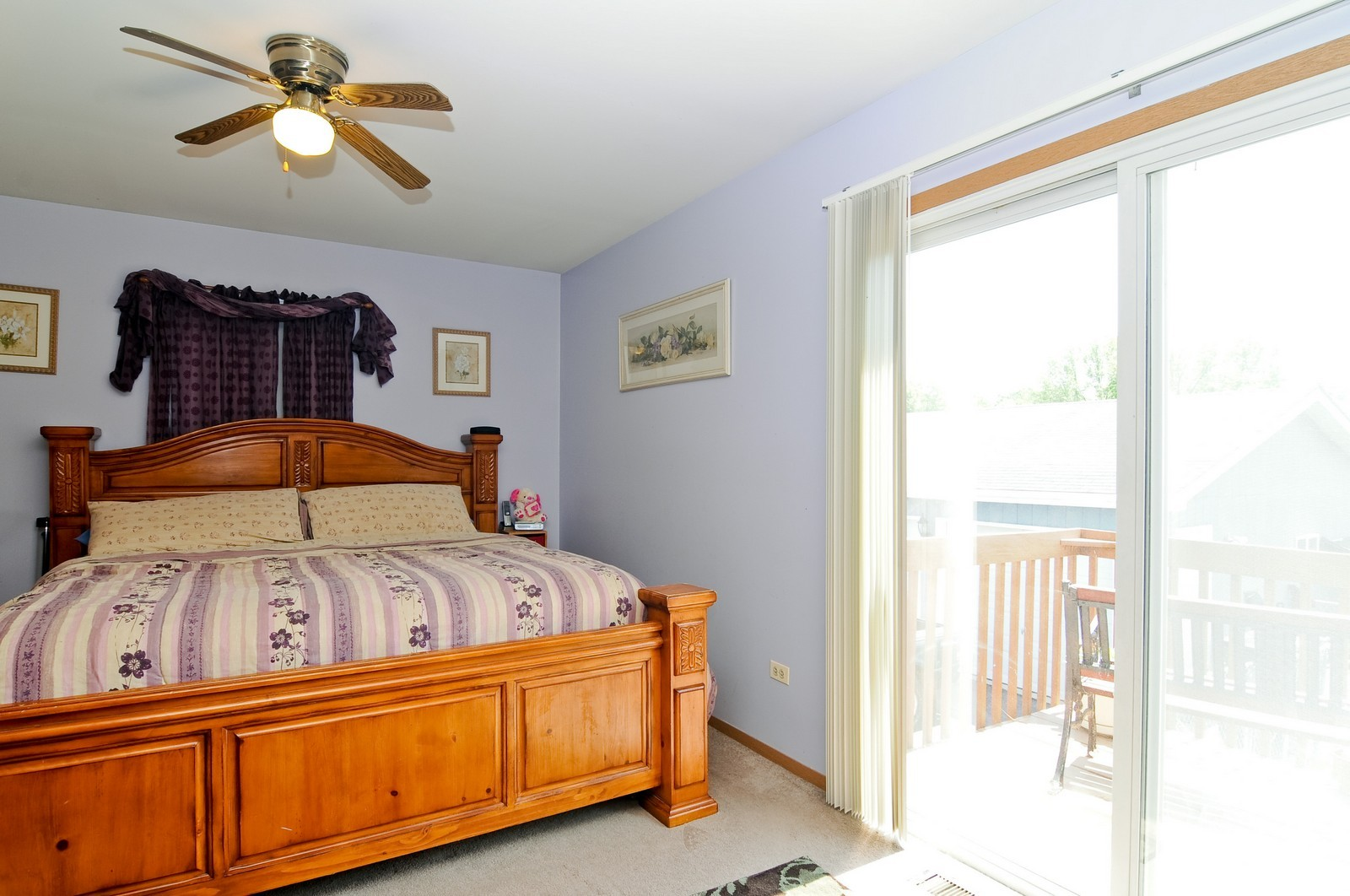 Real Estate Photography - 10625 Yorkhouse Rd, Beach Park, IL, 60087 - Master Bedroom