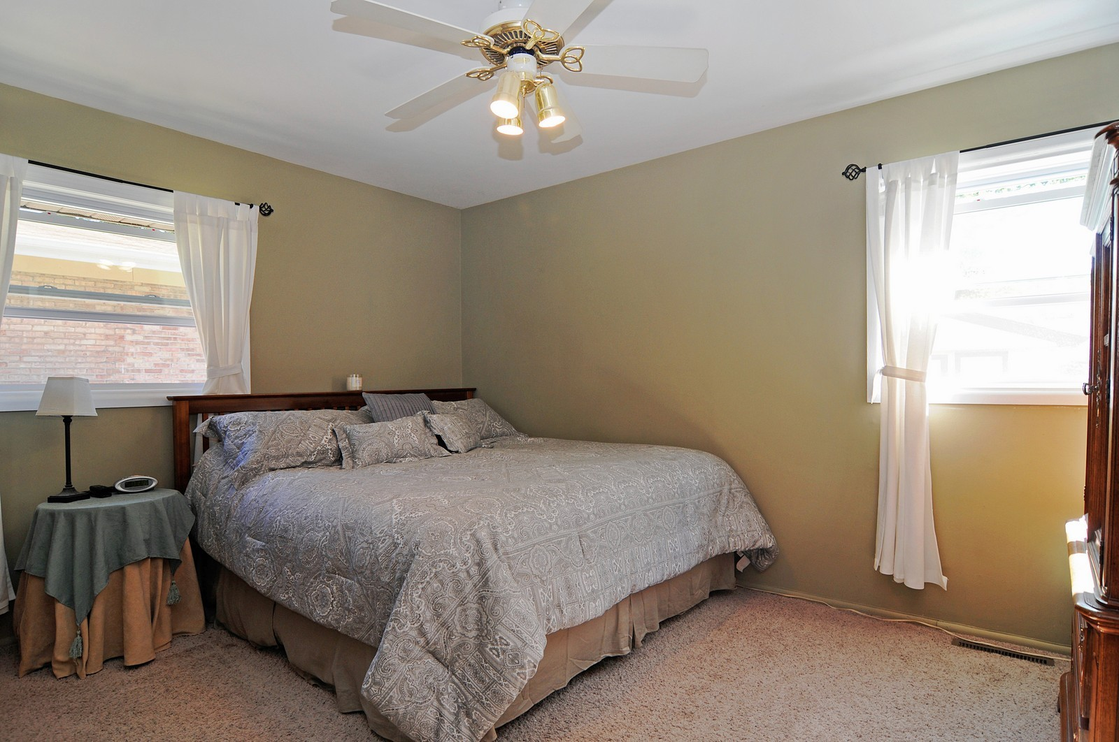 Real Estate Photography - 813 Sunnyside, Thorton, IL, 60430 - Bedroom