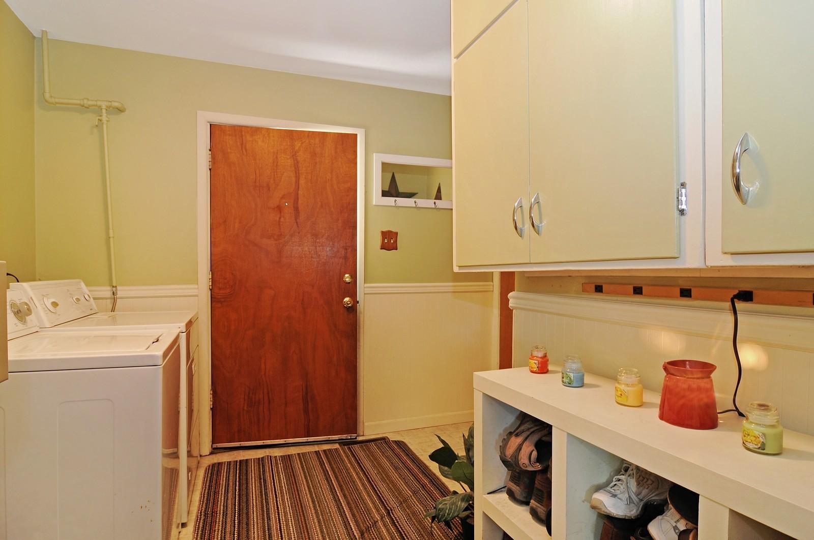 Real Estate Photography - 813 Sunnyside, Thorton, IL, 60430 - Laundry Room