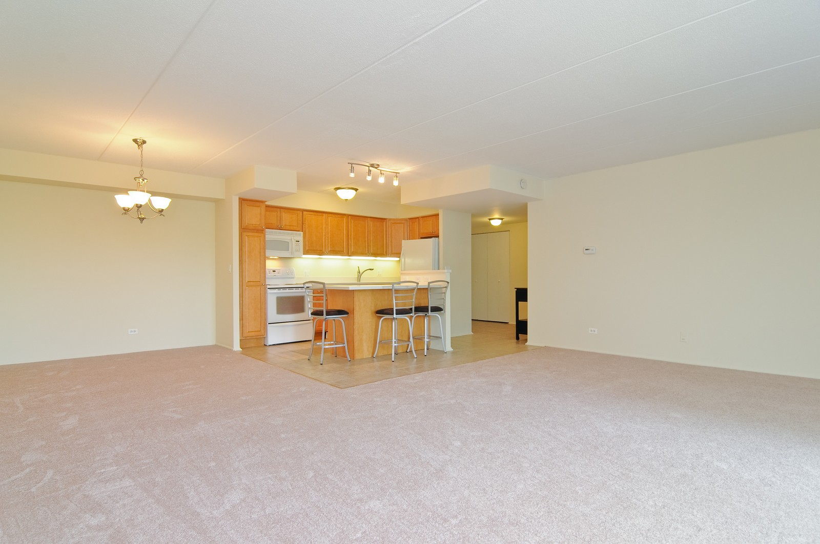 Real Estate Photography - 1301 N. Western, 329, Lake Forest, IL, 60045 - Kitchen / Dining Room