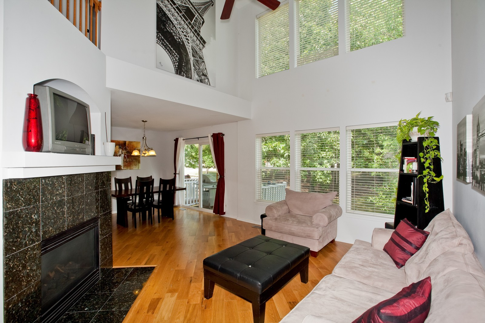 Real Estate Photography - 6131 Wingate, Lisle, IL, 60532 - Living Room