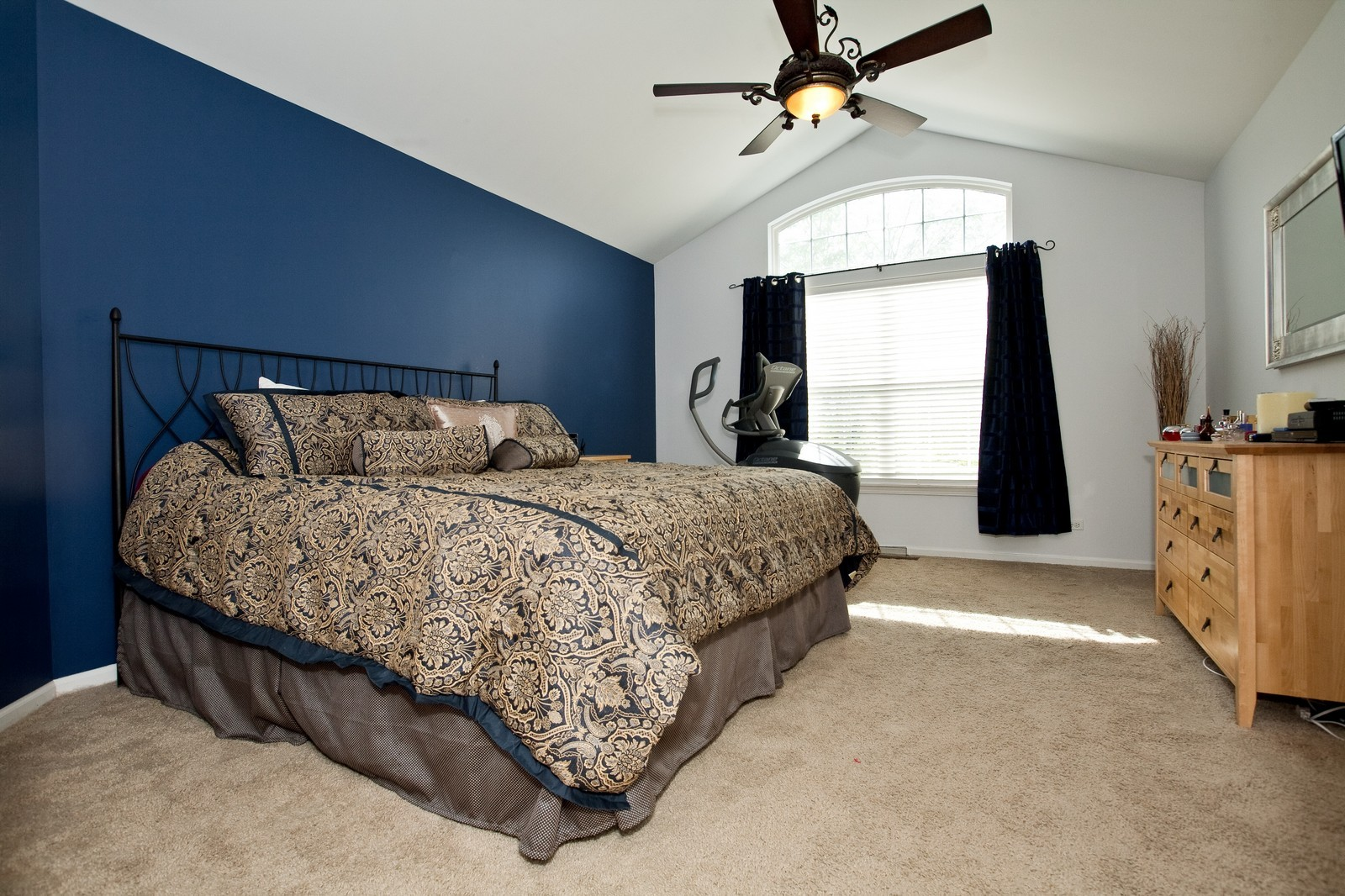 Real Estate Photography - 6131 Wingate, Lisle, IL, 60532 - Master Bedroom