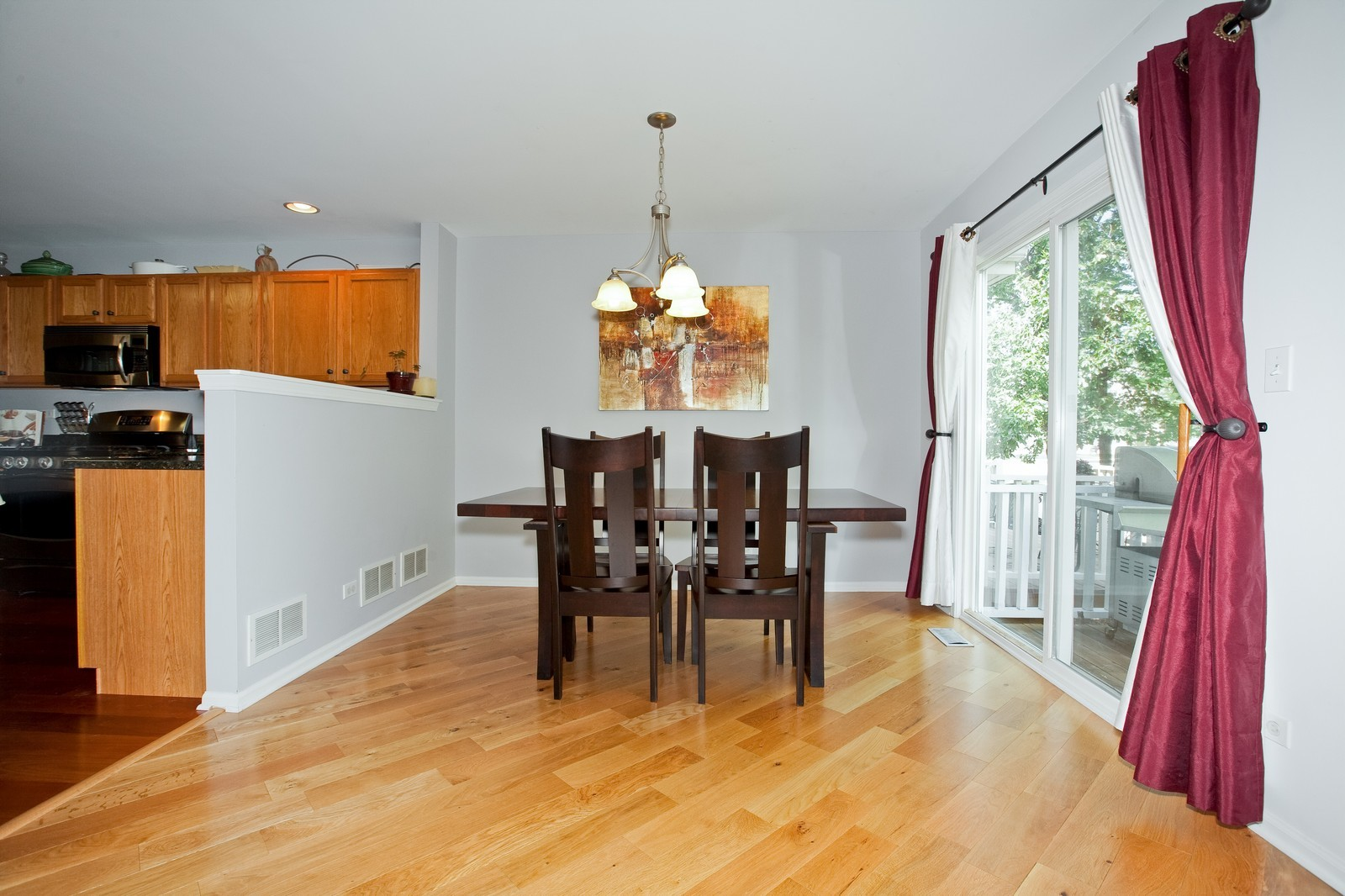 Real Estate Photography - 6131 Wingate, Lisle, IL, 60532 - Dining Room