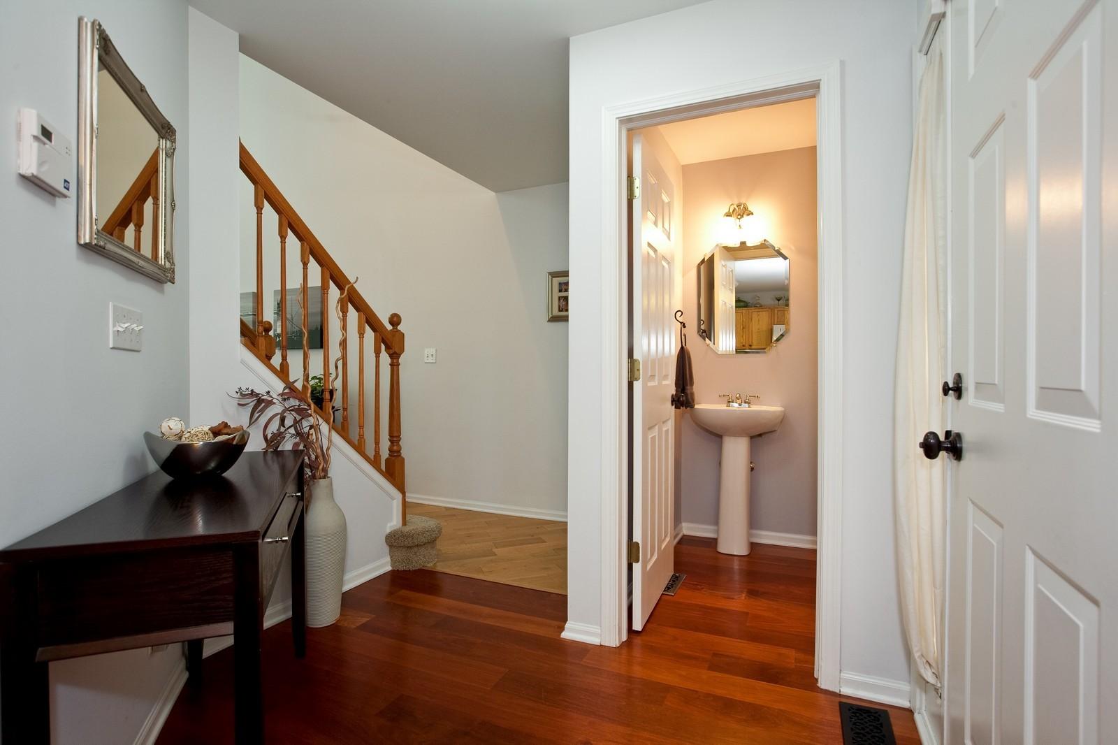 Real Estate Photography - 6131 Wingate, Lisle, IL, 60532 - Foyer
