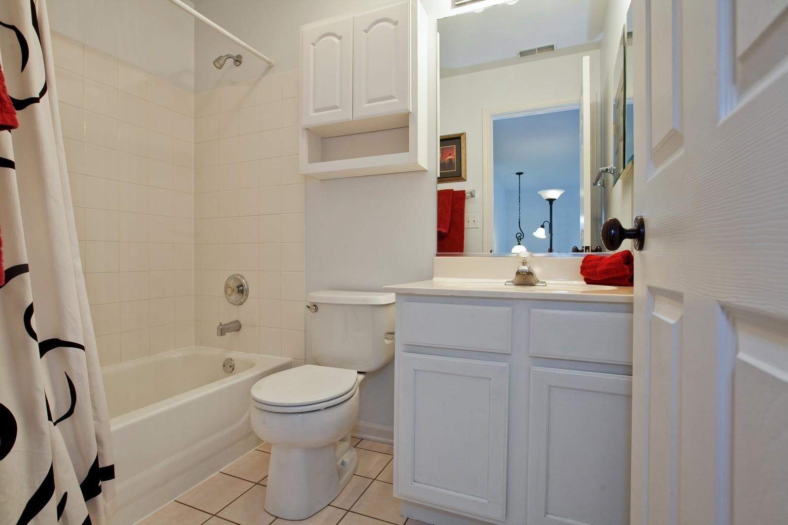 Real Estate Photography - 6131 Wingate, Lisle, IL, 60532 - Bathroom